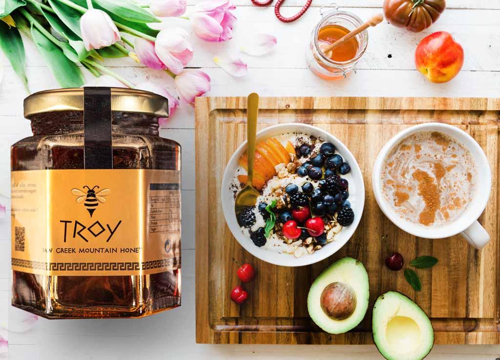 troy raw honey image